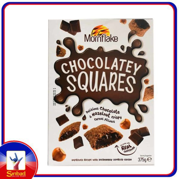 Mornflake Chocolatey Squares Cereal 375g