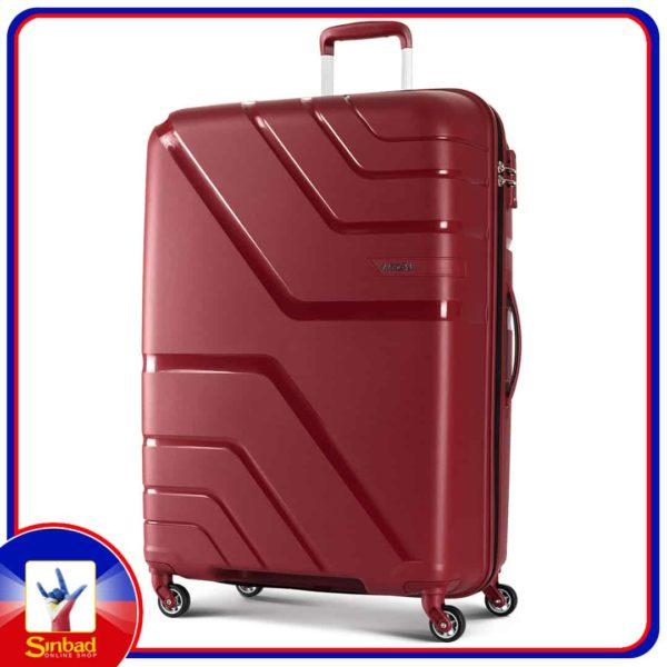 American Tourister Upland 4Wheel Hard Trolley 68cm Red