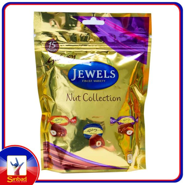 Galaxy Jewels Assorted Chocolate With Nuts 140g