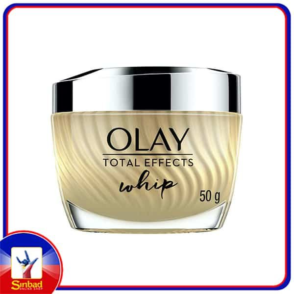 Olay Total Effects Whip Lightweight Face Moisturiser Without Greasiness 50g