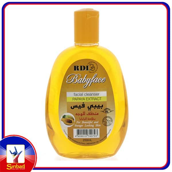 RDL Baby Face Facial Cleanser With Papaya Extract 250ml