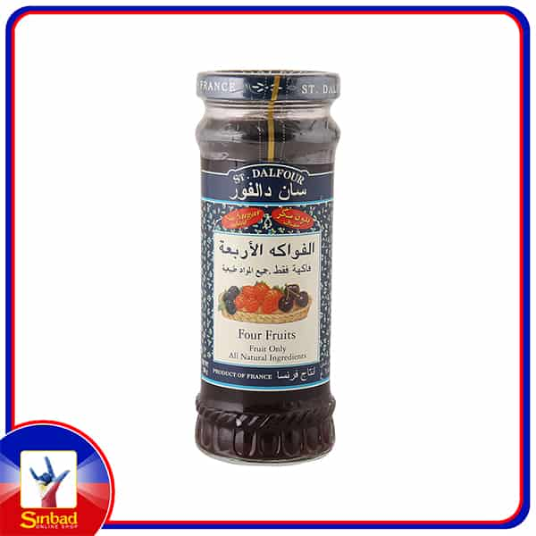 St. Dalfour Deluxe Four Fruit Spread 284g