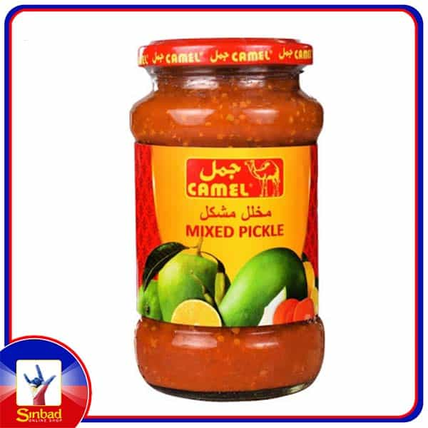 Camel Mixed Pickle in Oil 400gm
