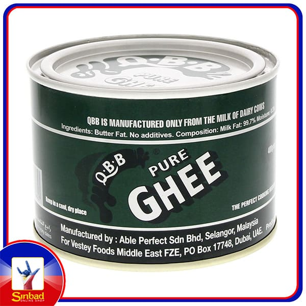 QBB PURE BUTTER GHEE 400 gm