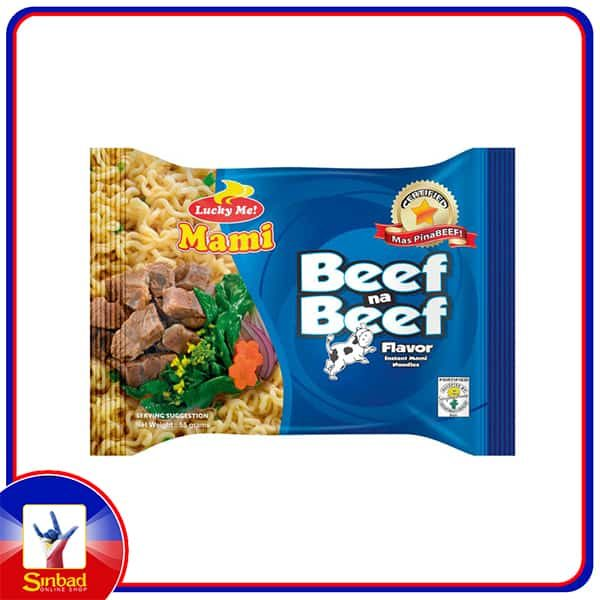 Lucky Me Beef Na Beef 55g