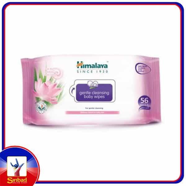 HIMALAYA Baby Wipes  Gentle Cleansing 56s