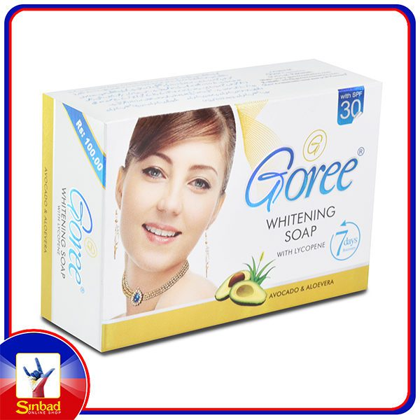 Goree Whitening SOAP With LYCOPENE Features