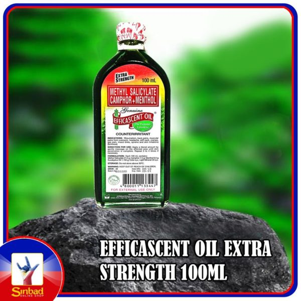 EFFICASCENT OIL EXTRA STRENGTH 100ML