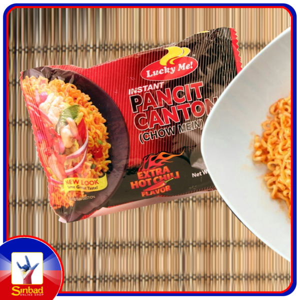 LUCKY ME PANCIT CANTON HOT & SPICY FLAVOR 60g