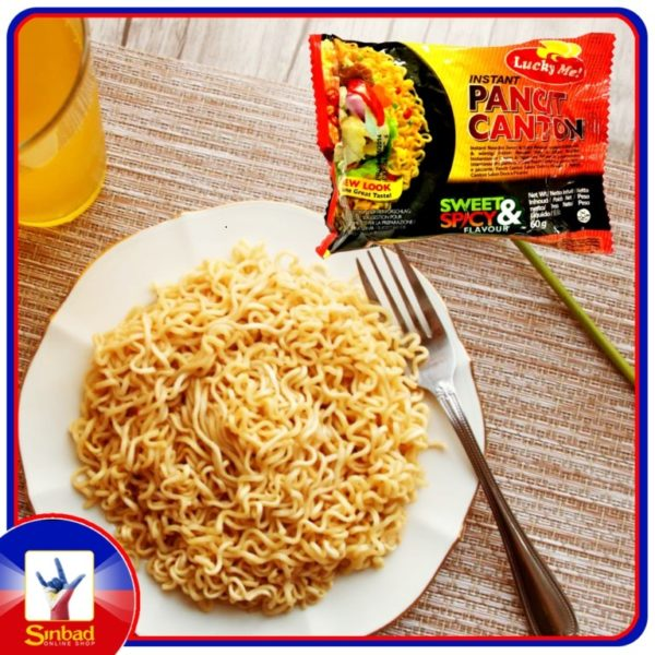 LUCKY ME PANCIT CANTON SWEET & SPICY FLAVOR 60g