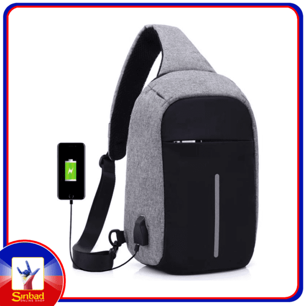 USB Charger Anti Theft Waterproof Smart Bag