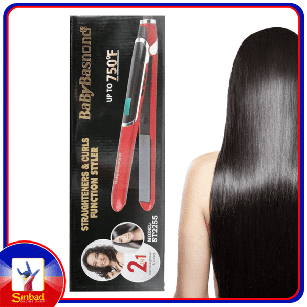 babybasnono professional hair straighteners and curls functional style